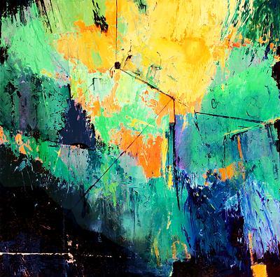 Contemporary artist, Dotti Burton